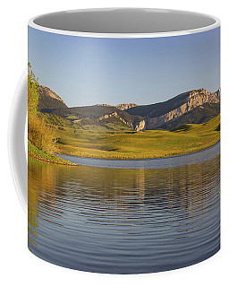 Coffee Mug featuring the photograph Sawtooth by Jack Bell