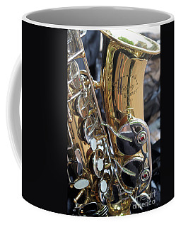 Sax In The City Coffee Mug