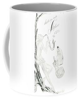 Coffee Mug featuring the digital art Sax Girl by ReInVintaged