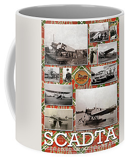 Scadta Airline Poster Coffee Mug