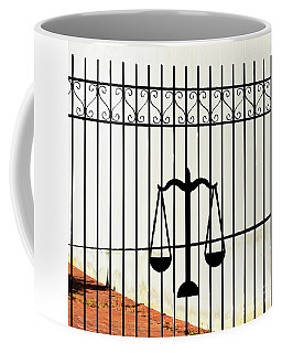 Coffee Mug featuring the photograph Scales Of Lady Liberty by Skip Willits
