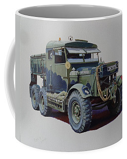 Scammell Pioneer Wrecker. Coffee Mug by Mike  Jeffries