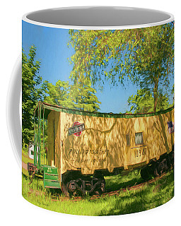Scandy Northwestern Caboose Coffee Mug