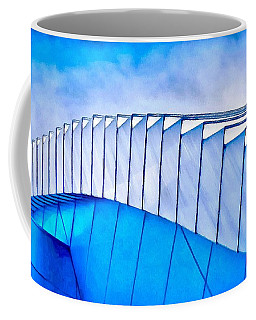 Coffee Mug featuring the painting Scaped Glamour by Catherine Lott