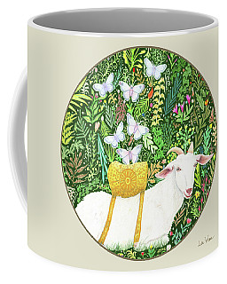 Scapegoat Button Coffee Mug