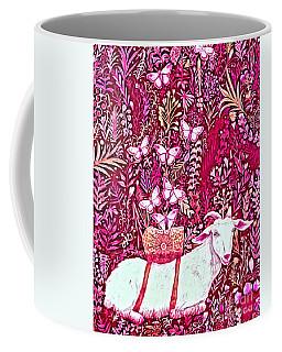 Scapegoat Healing In Fuchsia Coffee Mug
