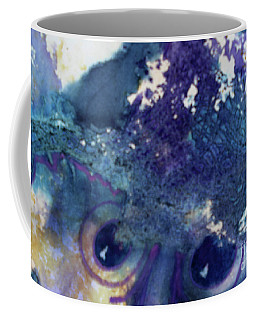 Coffee Mug featuring the painting Scarecrow Eyes by Kathy Braud