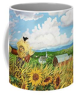 Scarecrow Farm Coffee Mug by Bonnie Siracusa