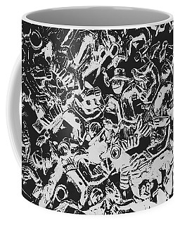 Scarecrows From All Hallows Way Coffee Mug