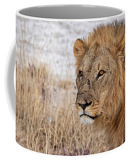 Coffee Mug featuring the photograph Scarface by Rand
