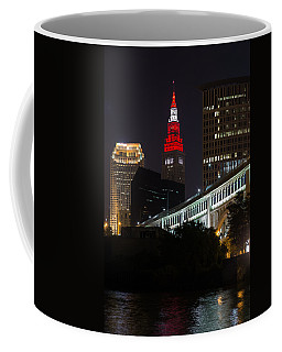 Scarlet And Gray Coffee Mug