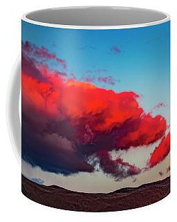 Scarlet Clouds Coffee Mug