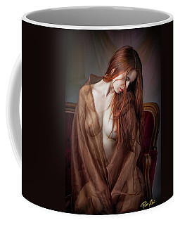 Coffee Mug featuring the photograph Scarlet Repose by Rikk Flohr