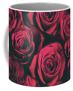 Coffee Mug featuring the photograph Scarlet Roses by Jessica Jenney