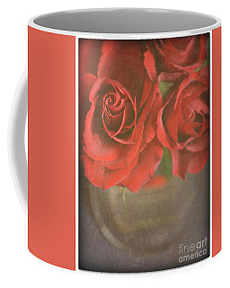 Coffee Mug featuring the photograph Scarlet Roses by Lyn Randle