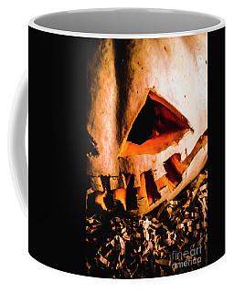 Scary Jack O Lantern. Halloween Faces Coffee Mug