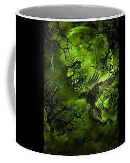 Scary Moon Coffee Mug