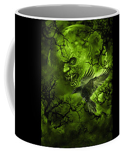 Scary Moon Coffee Mug