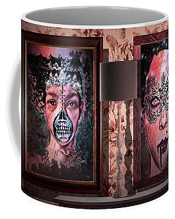 Scary Museum Wallart Coffee Mug