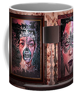 Scary Museum Wallart Coffee Mug