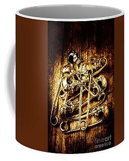 Scary Safety Pins Coffee Mug