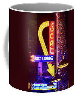 Scat Jazz Neon V3 Coffee Mug