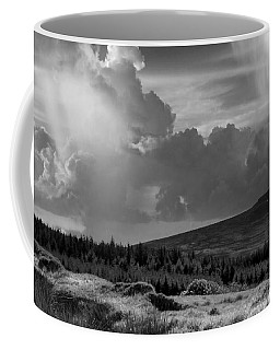 Scattering Clouds Over The Cronk Coffee Mug