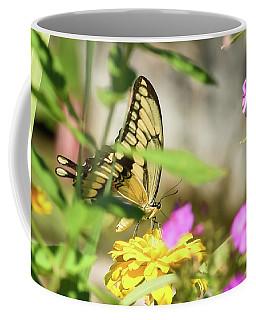 Scene From A Flower Garden Coffee Mug