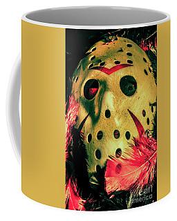 Scene From A Fright Night Slasher Flick Coffee Mug
