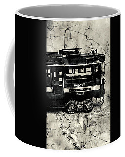Scene From The Old Tramway Coffee Mug