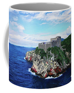 Scene From The Sea Coffee Mug