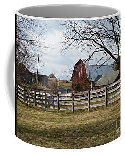 Scene On The Farm Coffee Mug