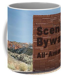 Scenic Byway 12 Sign Utah Coffee Mug