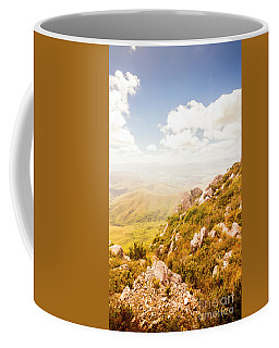 Scenic Mountain Peak Coffee Mug