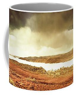 Scenic Southwest Tasmania Lakes Coffee Mug