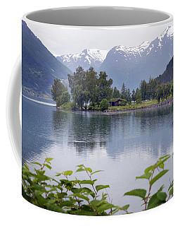 Scenic Stryn Lake. Coffee Mug