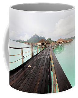Scenic Walk To The Bungalow Coffee Mug