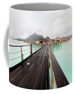 Scenic Walk To The Bungalow Coffee Mug