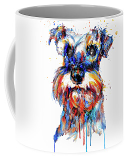 Schnauzer Head Coffee Mug