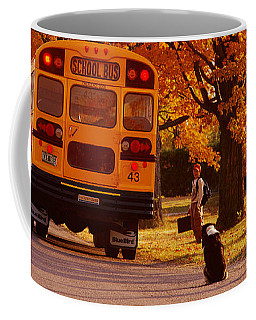 Good Bye Friend I. Vermont Coffee Mug