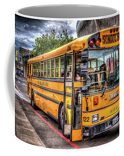School Bus Coffee Mug