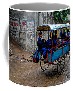 School Cart Coffee Mug