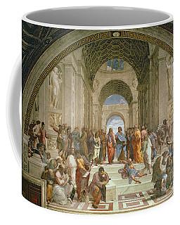 School Of Athens From The Stanza Della Segnatura Coffee Mug