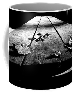 Schooled In Thought - Black And White Coffee Mug