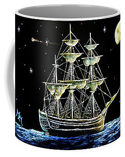 Schooner Coffee Mug