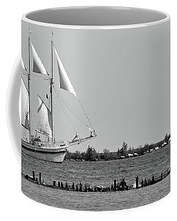 Schooner On Lake Michigan No. 1-1 Coffee Mug