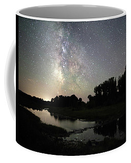 Schwabacher's Landing At Night Coffee Mug