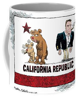 Schwarzenegger Love Child Flag Coffee Mug