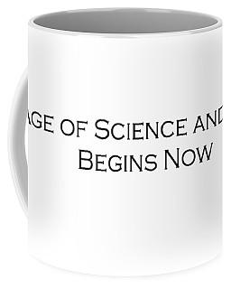 Science And Reason Coffee Mug by David Miller