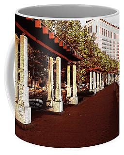 Scioto Mile Columbus Sketch Coffee Mug by Ron Grafe